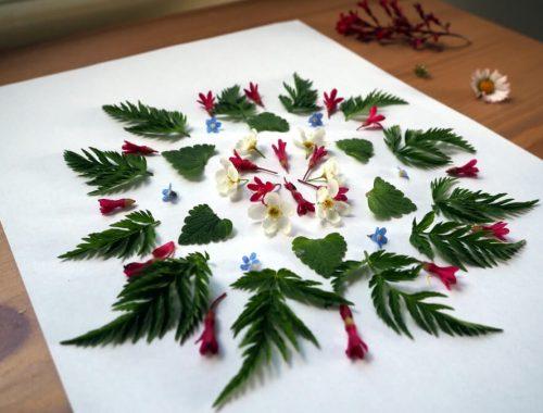 Beitragsbild Blumen pressen